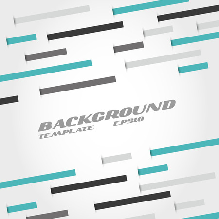 turquoise and grey line abstract background. infographic concept. Vector