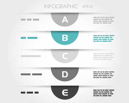 turquoise transparent striped semicircle infographic. infographic concept. 版權商用圖片 - 22396036