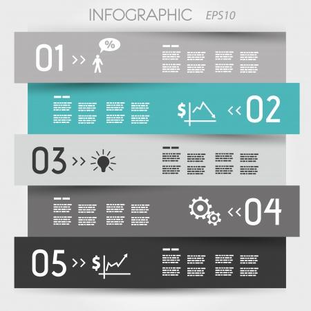 turquoise zig zag infographic element. infographic concept.