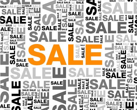 backgorund: sale backgorund. sale backgorund concept Illustration