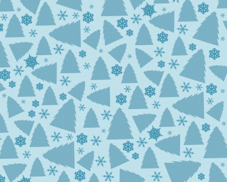 winter background. christmas tree concept. Vector