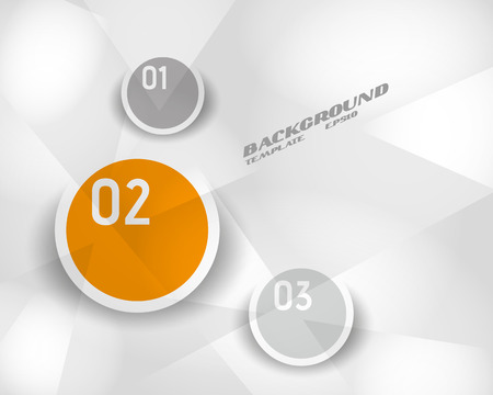crystalline: orange infographic crystalline template. infographic concept.