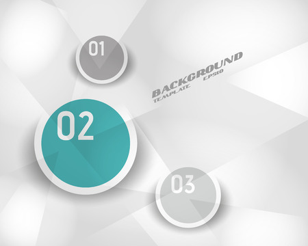 turquoise infographic crystalline template. infographic concept. Vector