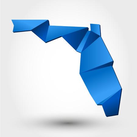 miami south beach: map concept