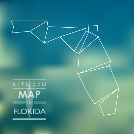 delineation: map of florida