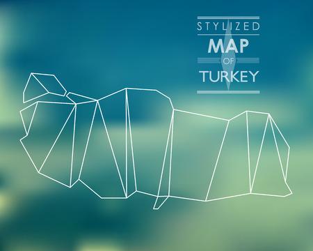 map of turkey Stock Vector - 25953345