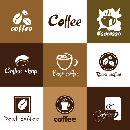 coffee icons, coffee modern concept Vector