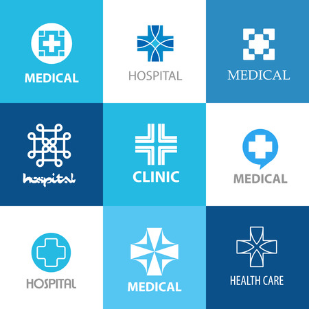 various medical crosses, medical concept Stock Vector - 26263638