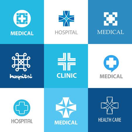 crosses: various medical crosses, medical concept