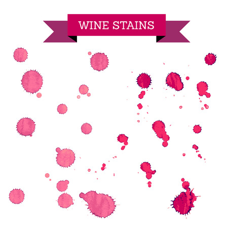 wine stains: red wine stains, wine concept