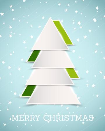 christmas concept: moder christmas tree. christmas concept