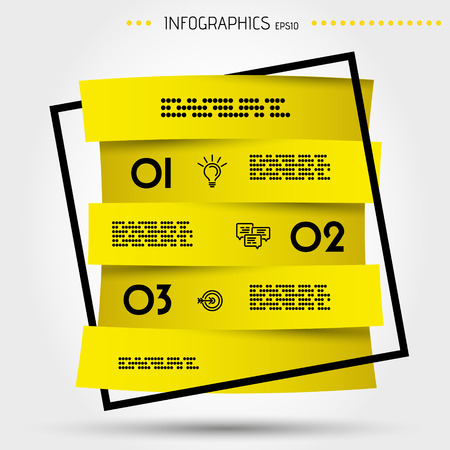 Infographic concept template