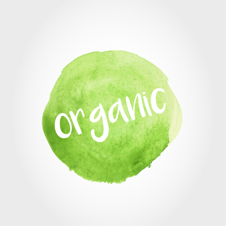 green painted stain with organic theme
