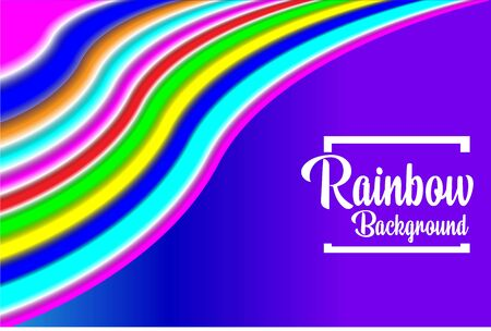 abstract background rainbow style