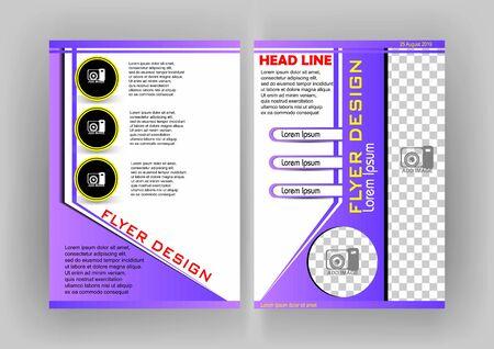 simple flyer design