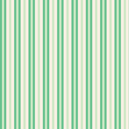 Green stripes on ivory background seamless repeat. Great for invitations, fabric, wallpaper, giftwrap, scrapbook paper. Surface pattern design.