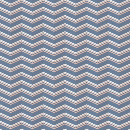 Elegant seamless chevron vector pattern in pink and navy.