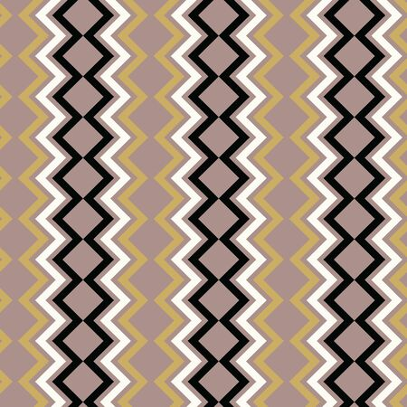 Tribal inspired chevron vector pattern. Both classic and modern, great for bedding, textiles, paper items, fashion accessories and pillows. Banque d'images - 139891226