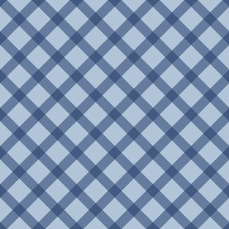 Gingham striped checkered seamless pattern in blue. Great for blankets, plaid, tablecloths, clothes, shirts, dresses, paper, bedding, blankets, quilts, textile products, restaurants, picnics, country.
