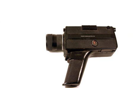 Old Vintage Handheld Camcorder