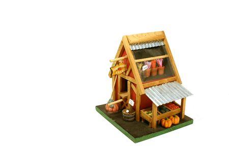 Decoration - Miniature Farm House
