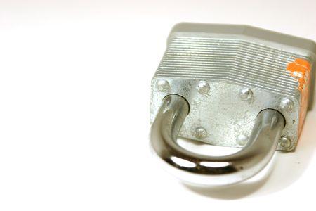 dilsiz: Close up shot on a padlock