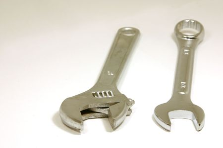 Two types of wrenches