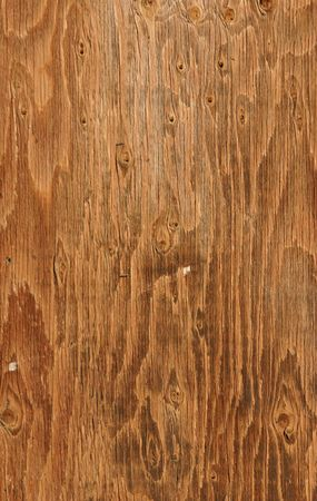 Close up on Wooden Posting Board