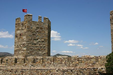 Turkish Castle in Western Turkey