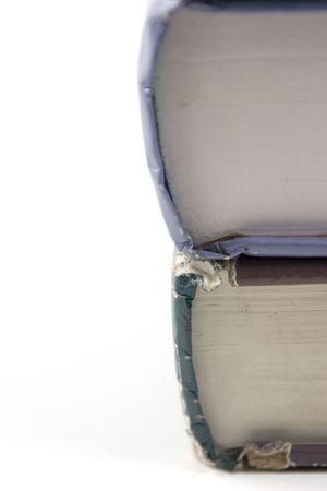 Cerrar hasta en dos libros antiguos  Foto de archivo - 293736