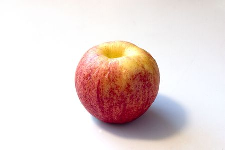 Old Apple that looks like a Peach 版權商用圖片