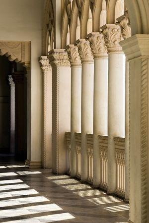 Venetian Balcony Columns and Arches in Las Vegas Nevada Stock Photo - 333853