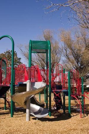 Empty Playground in Spring Stock Photo - 347000