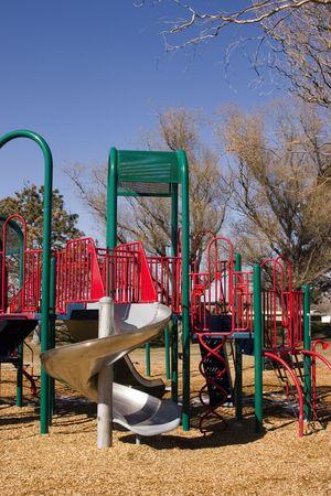 Empty Playground in Spring Stock Photo - 347000