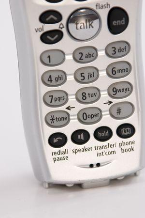 Close-up van een geïsoleerde Telefoon
