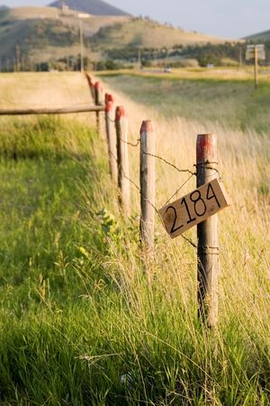 dilsiz: Wooden Fence by the Countryside