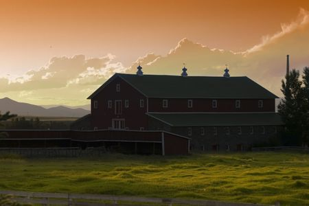 Countryside Ranch Stock Photo - 510351