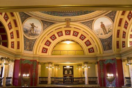 second floor: Second Floor of Capital Building in Helena Montana