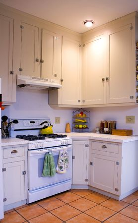 Close up on a Kitchen in a Nice House Stock Photo - 2136886