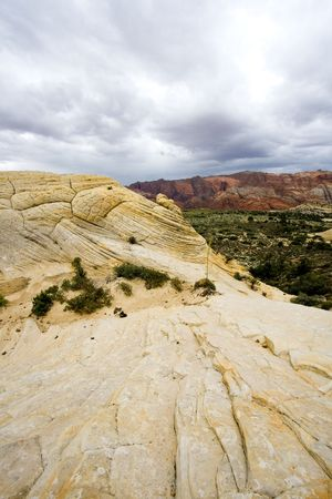 Snow Canyon in St. George, Utah - Sandstones photo