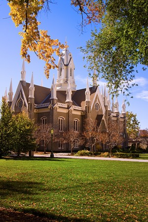 mormon temple: Church in Mormon Temple