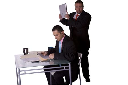 Businessman Getting Rid of His Competition