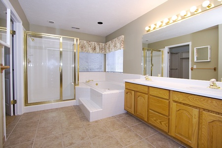 Bathroom - Close up on an inter of a house Stock Photo - 9793620