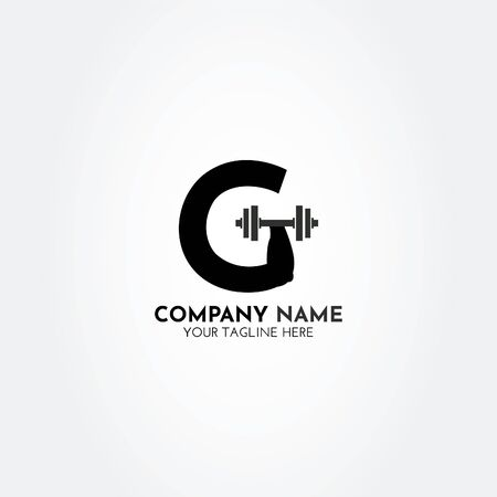 G Fitness Gym Logo With Creative and Modern Look