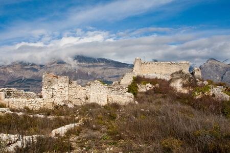Ruin of ancient village