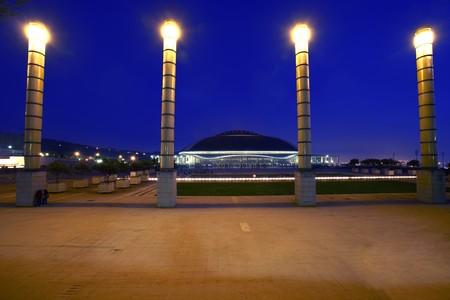 General view of Sport Center,  Palu Sant Jordi, Barcelona, Spain Stock Photo - 7174901