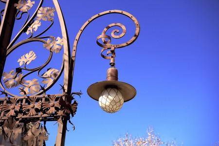 paseo: View of the exterior of Casa Mila, La Pedrera, Antonio Gaudi, Barcelona, Spain Stock Photo