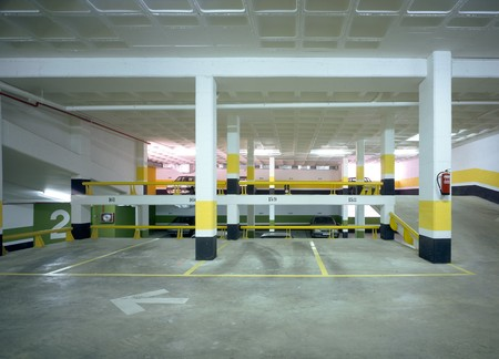 interior of a parking Stock Photo - 7174576