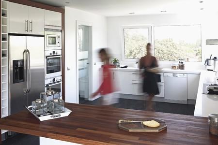 Visualizzazione di cucina.
