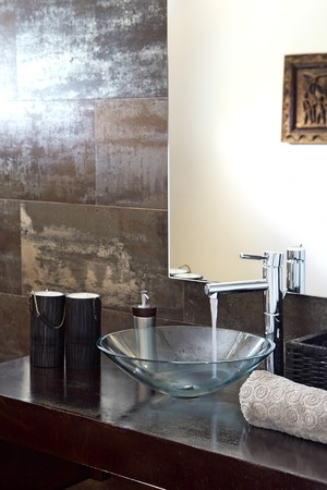 Detail of washbasin